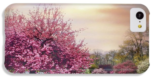 IPhone 5c Case featuring the photograph Cherry Orchard Hill by Jessica Jenney