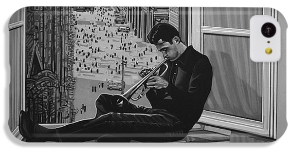 Trumpet iPhone 5c Case - Chet Baker by Paul Meijering