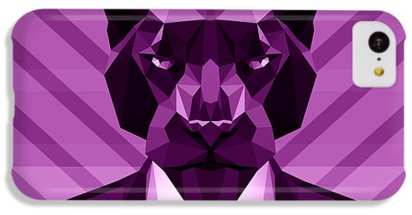 Chevron Panther IPhone 5c Case by Gallini Design
