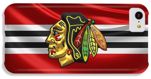 Sport iPhone 5c Case - Chicago Blackhawks by Serge Averbukh
