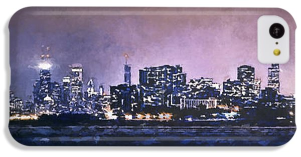 Chicago Skyline From Evanston IPhone 5c Case by Scott Norris