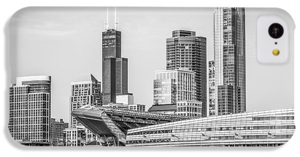 Chicago Skyline With Soldier Field And Willis Tower  IPhone 5c Case