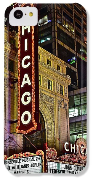 Chicago Theater Aglow IPhone 5c Case