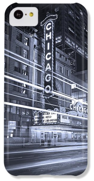 Chicago Theater Marquee B And W IPhone 5c Case