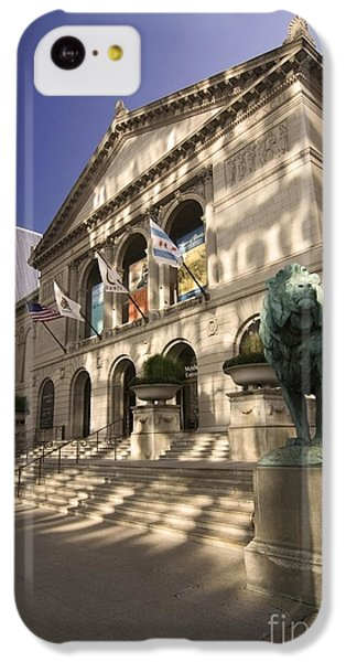 Chicago's Art Institute In Reflected Light. IPhone 5c Case