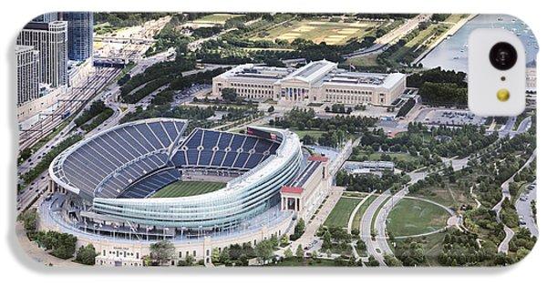 Soldier Field iPhone 5c Case - Chicago's Soldier Field by Adam Romanowicz