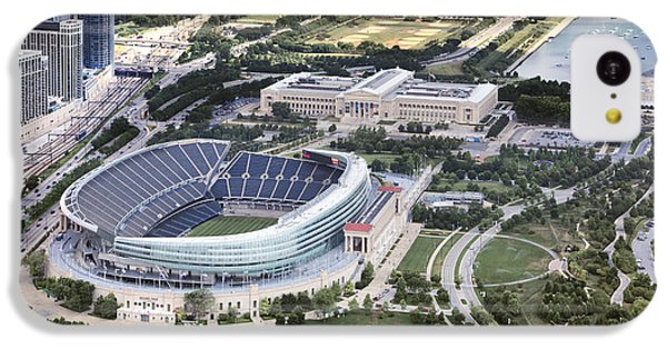 IPhone 5c Case featuring the photograph Chicago's Soldier Field by Adam Romanowicz