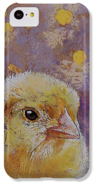 Chicken iPhone 5c Case - Chick by Michael Creese