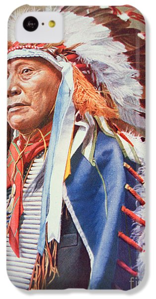 Portraits iPhone 5c Case - Chief Hollow Horn Bear by American School