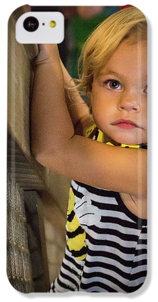 IPhone 5c Case featuring the photograph Child In The Light by Bill Pevlor