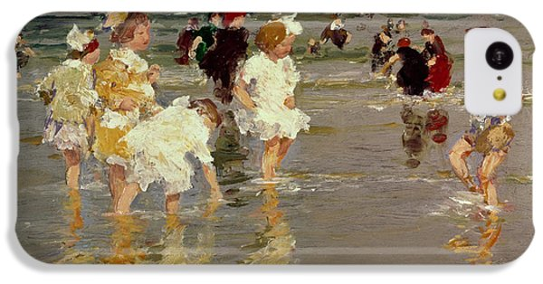 Children On The Beach IPhone 5c Case by Edward Henry Potthast