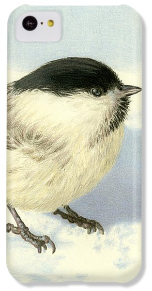 Chilly Chickadee IPhone 5c Case