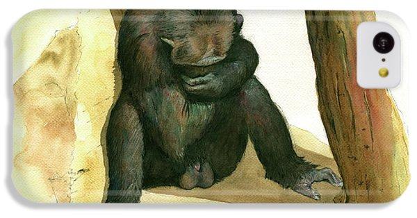 Chimp IPhone 5c Case