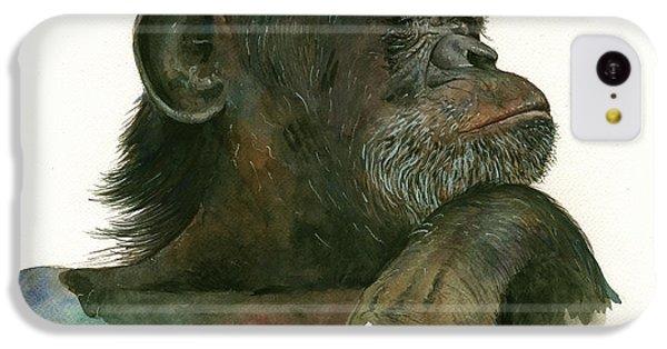 Chimp Portrait IPhone 5c Case