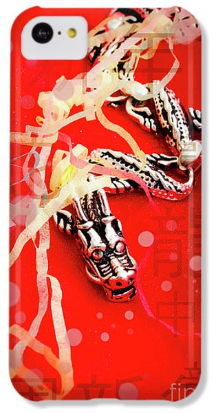 Dragon iPhone 5c Case - Chinese New Year Background by Jorgo Photography - Wall Art Gallery