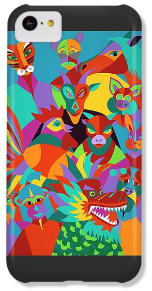 iPhone 5c Case - Chinese New Year by Synthia SAINT JAMES