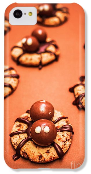 Chocolate Peanut Butter Spider Cookies IPhone 5c Case by Jorgo Photography - Wall Art Gallery