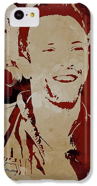 Coldplay iPhone 5c Case - Chris Martin Coldplay by Gull G
