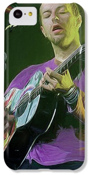 Coldplay iPhone 5c Case - Chris Martin, Coldplay by Mal Bray