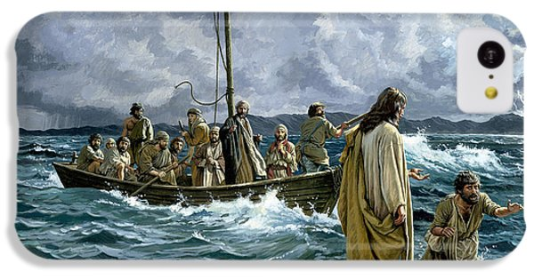 Christ Walking On The Sea Of Galilee IPhone 5c Case