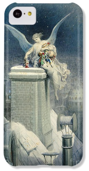Fairy iPhone 5c Case - Christmas Eve by Gustave Dore