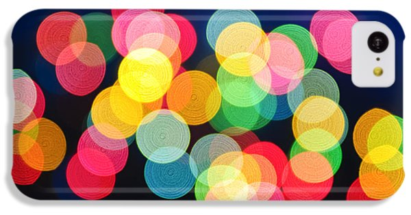 Christmas Lights Abstract IPhone 5c Case