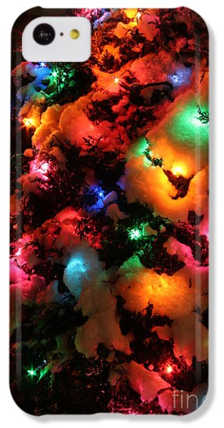 Christmas Lights Coldplay IPhone 5c Case