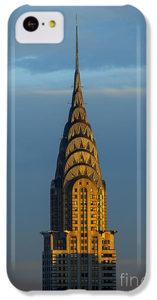 City Sunset iPhone 5c Case - Chrysler Building In The Evening Light by Diane Diederich