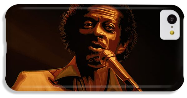 Chuck Berry Gold IPhone 5c Case by Paul Meijering