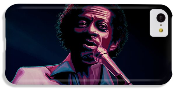 Rhythm And Blues iPhone 5c Case - Chuck Berry by Paul Meijering