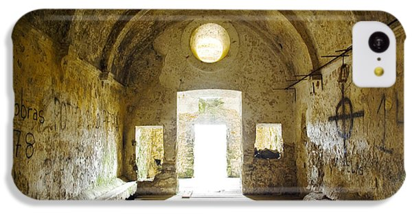 Dungeon iPhone 5c Case - Church Ruin by Carlos Caetano