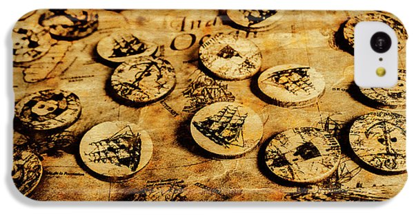 Navigation iPhone 5c Case - Circle Sails by Jorgo Photography - Wall Art Gallery