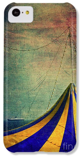 Circus With Distant Ships II IPhone 5c Case