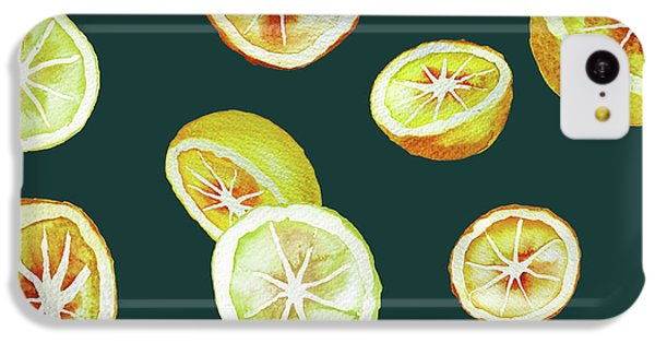 Citrus IPhone 5c Case by Varpu Kronholm