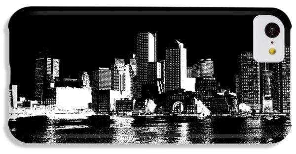 City Of Boston Skyline   IPhone 5c Case