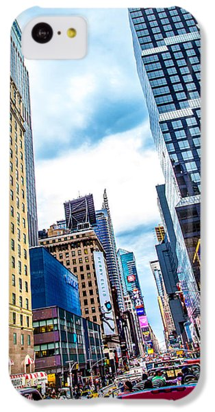 City Sights Nyc IPhone 5c Case by Az Jackson