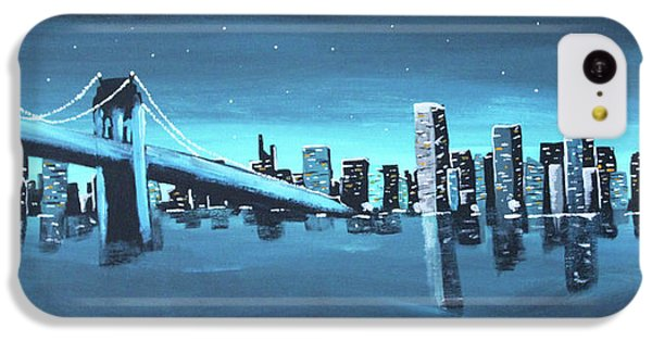 City Skyline IPhone 5c Case by Cyrionna The Cyerial Artist