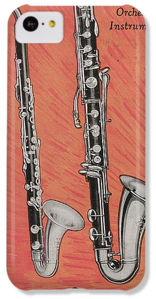 Clarinet And Giant Boehm Bass IPhone 5c Case by American School