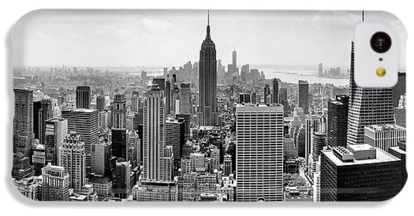 Empire State Building iPhone 5c Case - Classic New York  by Az Jackson