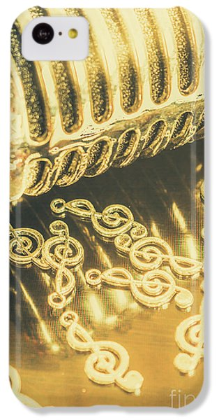 Sound iPhone 5c Case - Classical Golden Oldies by Jorgo Photography - Wall Art Gallery
