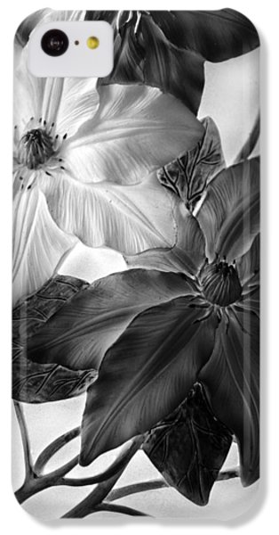 Clematis Overlay IPhone 5c Case by Jessica Jenney