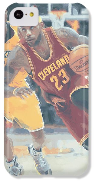 Cleveland Cavaliers Lebron James 3 IPhone 5c Case
