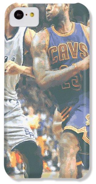 Cleveland Cavaliers Lebron James 4 IPhone 5c Case