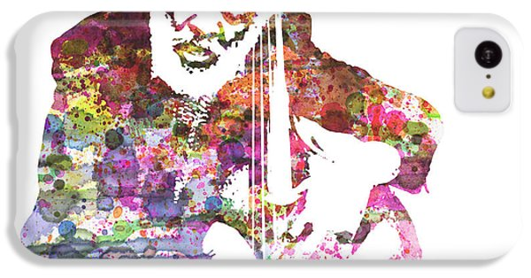 Saxophone iPhone 5c Case - Cleveland Eaton by Naxart Studio