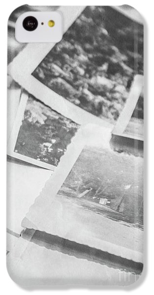Close Up On Old Black And White Photographs IPhone 5c Case