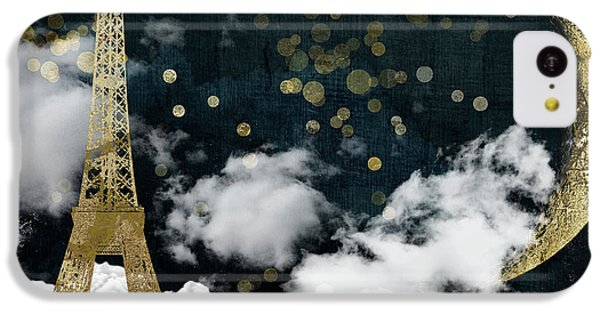 Cloud Cities Paris IPhone 5c Case