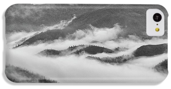 IPhone 5c Case featuring the photograph Clouds In Valley, Sa Pa, 2014 by Hitendra SINKAR