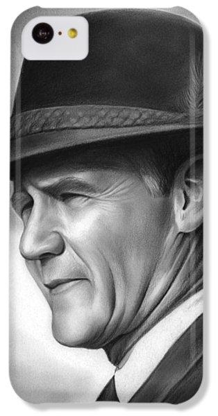 Coach Tom Landry IPhone 5c Case by Greg Joens
