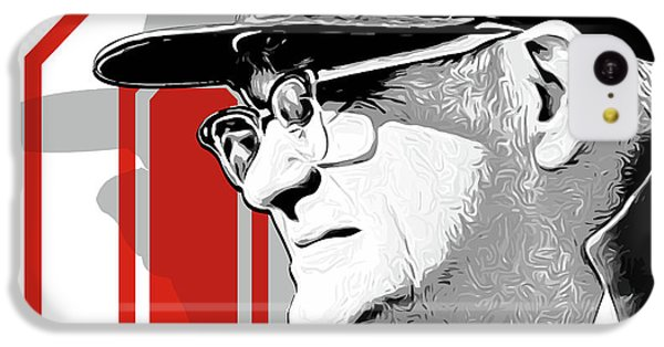 Miami iPhone 5c Case - Coach Woody Hayes by Greg Joens