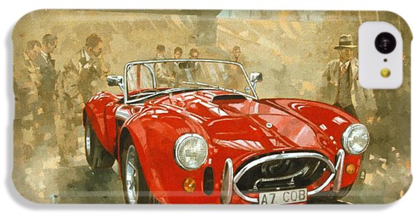 Cobra At Brooklands IPhone 5c Case by Peter Miller